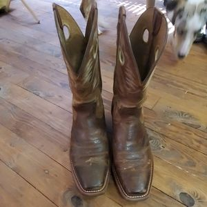 Ariat Rough Stock Heritage Mens Boots 10.5EE